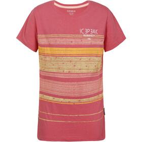 Icepeak Miami T-Shirt Girls, hot pink/design 2